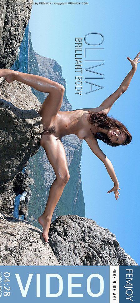 Olivia - `Brilliant Body` - by Valery Anzilov for FEMJOY VIDEO
