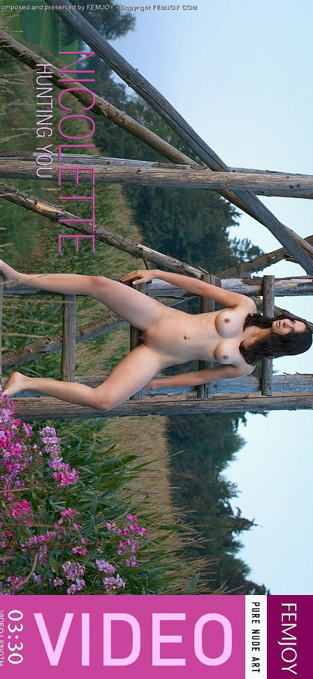 Nicolette in Hunting You video from FEMJOY VIDEO by Michael Sandberg