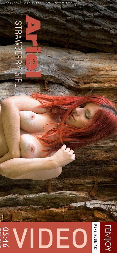 Ariel in Strawberry Girl video from FEMJOY VIDEO