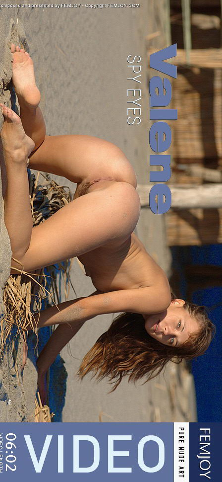 Valene in Spy Eyes video from FEMJOY VIDEO by Sven Wildhan