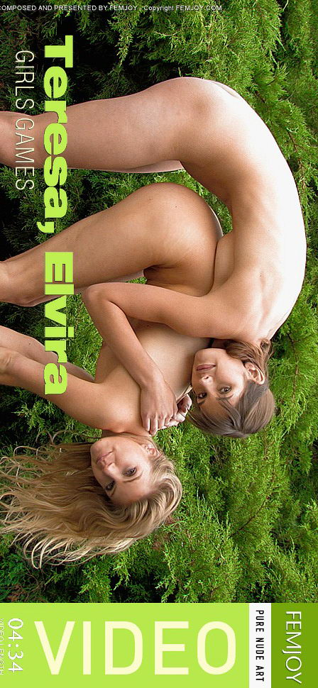 Teresa & Elvira - `Girls Games` - for FEMJOY VIDEO