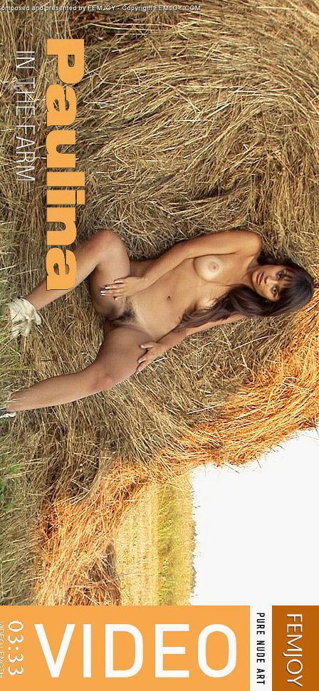 Paulina in In the farm video from FEMJOY VIDEO by Sven Wildhan