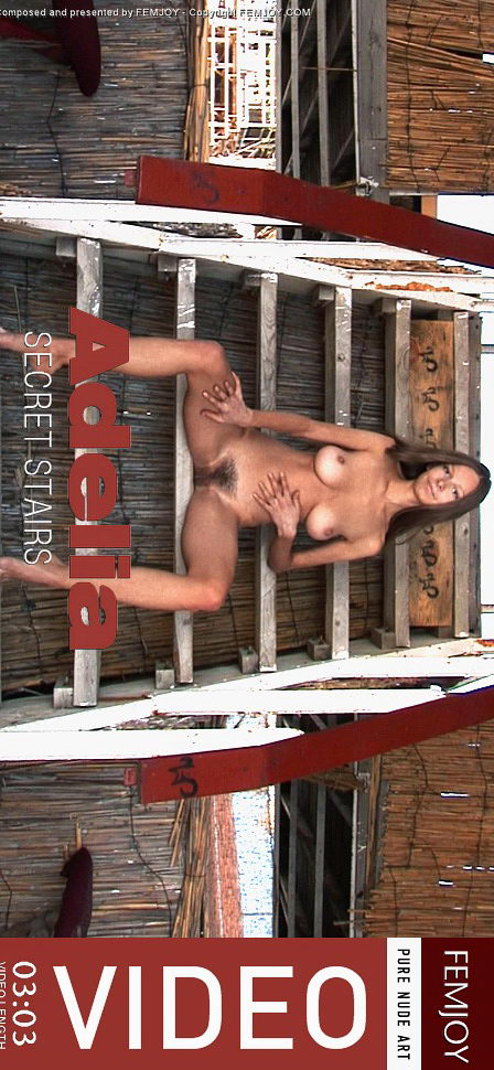 Adelia - `Secret Stairs` - by Sven Wildhan for FEMJOY VIDEO
