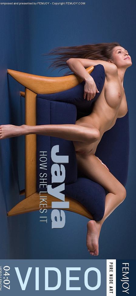 Jayla - `How She Likes It` - by Tatiana Novak for FEMJOY VIDEO