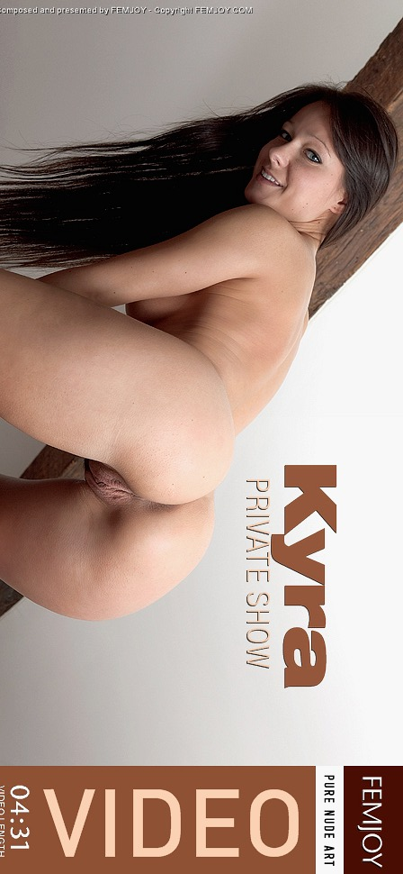 Kyra - `Private Show` - by Demian Rossi for FEMJOY VIDEO