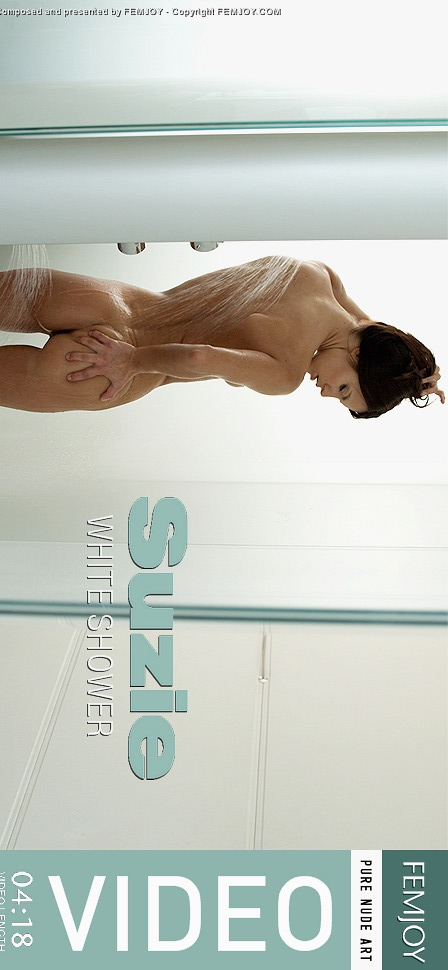 Suzi - `White Shower` - by Michael Sandberg for FEMJOY VIDEO
