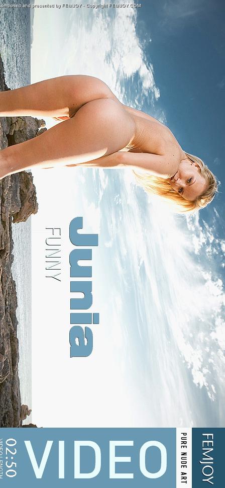 Junia - `Funny` - by Michael Sandberg for FEMJOY VIDEO