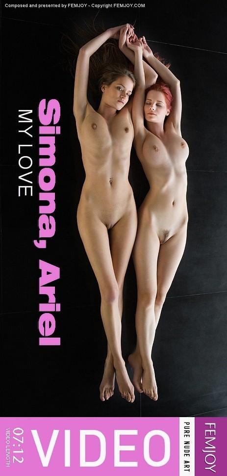 Ariel & Simona - `My Love` - by Andrej Lupin for FEMJOY VIDEO