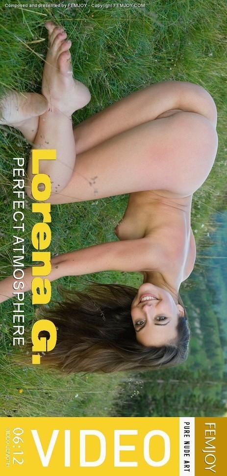 Lorena G - `Perfect Atmosphere` - by Michael Sandberg for FEMJOY VIDEO
