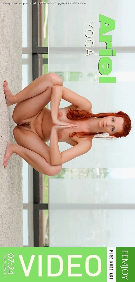 Ariel - `Yoga` - by FEMJOY Exclusive for FEMJOY VIDEO