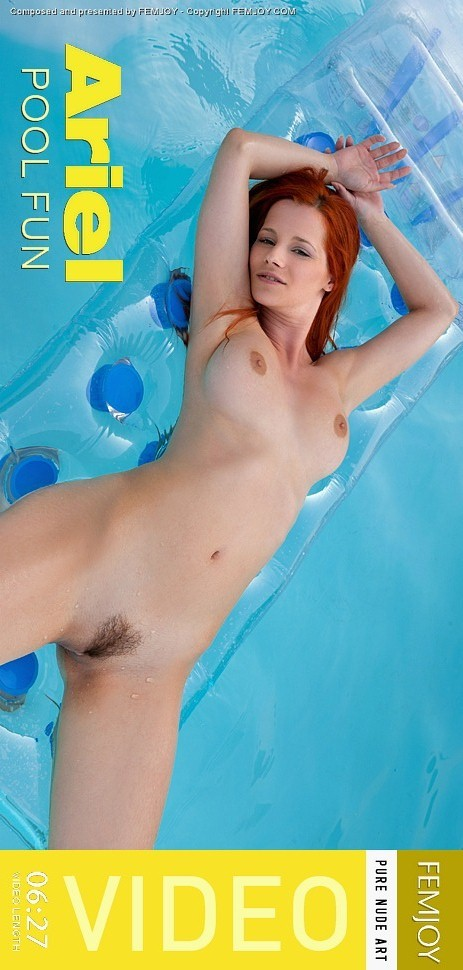 Ariel - `Pool Fun` - by FEMJOY Exclusive for FEMJOY VIDEO