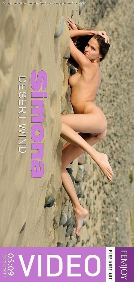 Simona - `Desert Wind` - by Tom Mullen for FEMJOY VIDEO