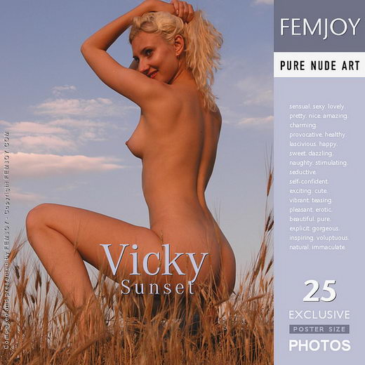 Vicky - `Sunset` - by Sergei Babenko for FEMJOY