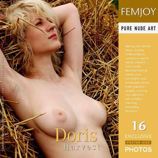 Doris - `Harvest` - by Rustam Koblev for FEMJOY