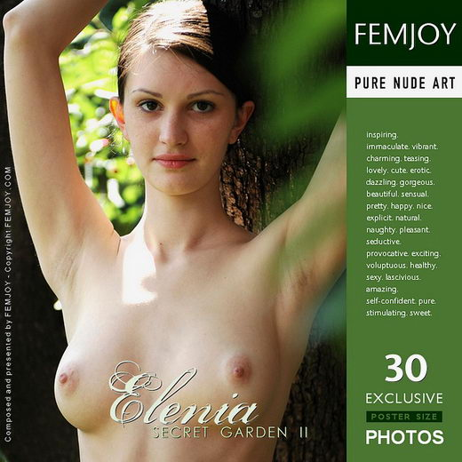 Elenia - `Secret Garden II` - by Rustam Koblev for FEMJOY