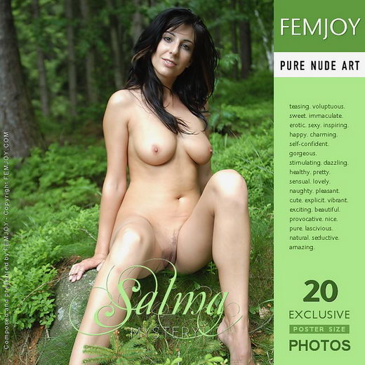 Salma - `Mystery` - by Robert Wild for FEMJOY