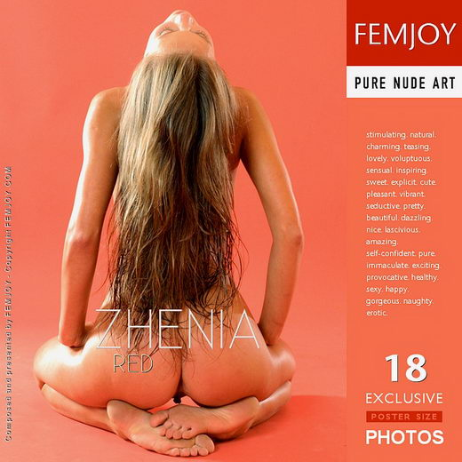 Zhenia - `Red` - by Alexander Fedorov for FEMJOY