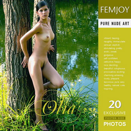 Olia - `Green` - by Sergei Babenko for FEMJOY