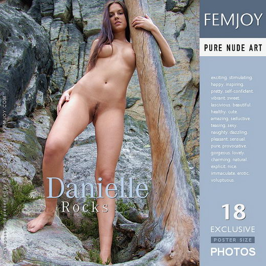 Danielle - `Rocks` - by Fred Klein for FEMJOY
