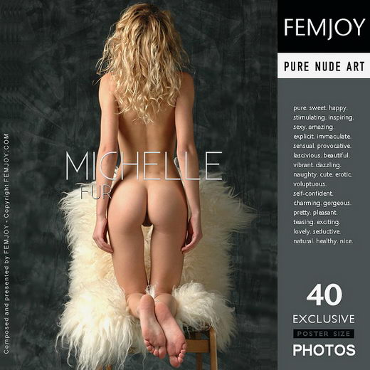 Michelle - `Fur` - by Rustam Koblev for FEMJOY
