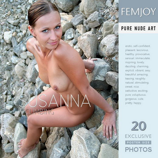 Susanna - `Climbing` - by Fred Klein for FEMJOY