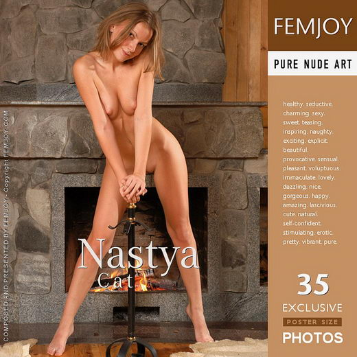 Nastya - `Cat` - by Sergey Goncharov for FEMJOY