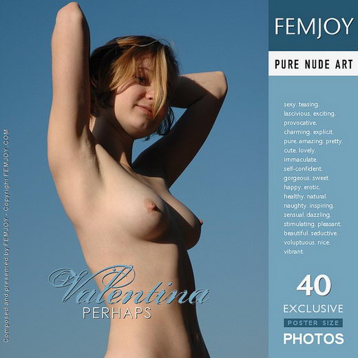 Valentina - `Perhaps` - by Rustam Koblev for FEMJOY