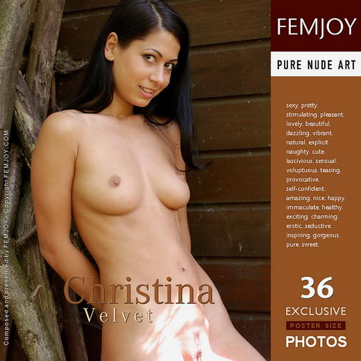 Christina - `Velvet` - by Massimo De Luca for FEMJOY