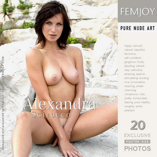 Alexandra - `Scirroco` - by Manfred Baumann for FEMJOY