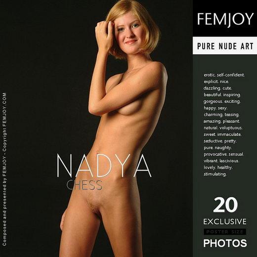 Nadya - `Chess` - by Rustam Koblev for FEMJOY