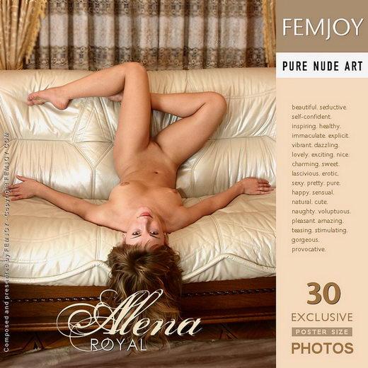 Alena - `Royal` - by Valery Anzilov for FEMJOY