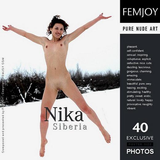Nika - `Siberia` - by Rustam Koblev for FEMJOY