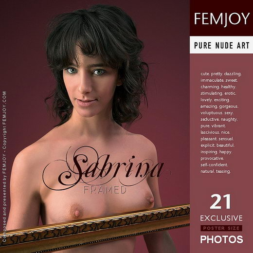 Sabrina - `Framed` - by Stefan Soell for FEMJOY