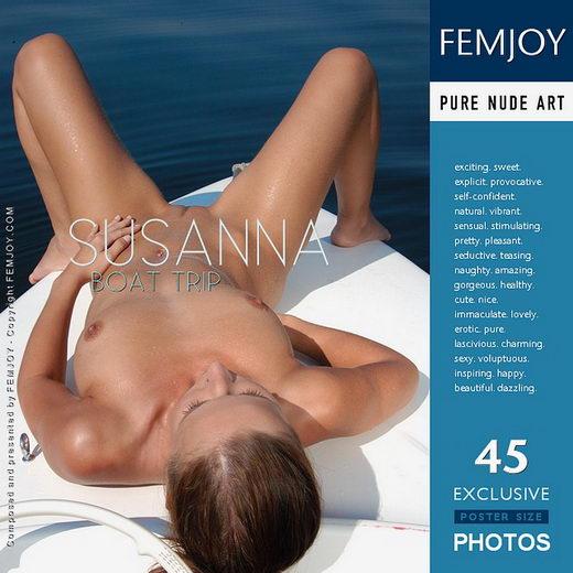 Susanna - `Boat Trip` - by Fred Klein for FEMJOY
