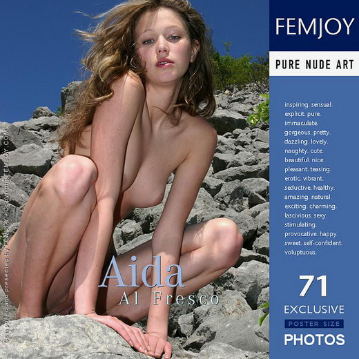 Aida - `Al Fresco` - by Valery Anzilov for FEMJOY