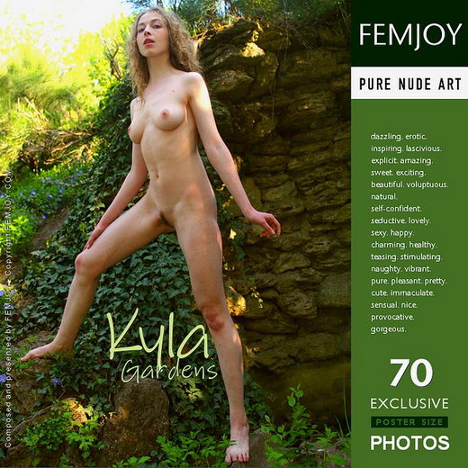 Kyla in Gardens gallery from FEMJOY by Somburov