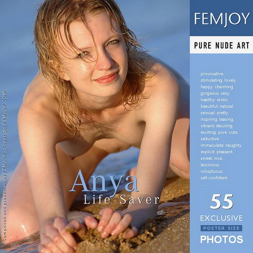 Anya - `Life Saver` - by Rustam Koblev for FEMJOY