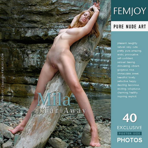 Mila - `Far Away` - by Valery Anzilov for FEMJOY