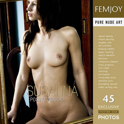 Susanna - `Posing Indoor` - by Rene Whitfield for FEMJOY