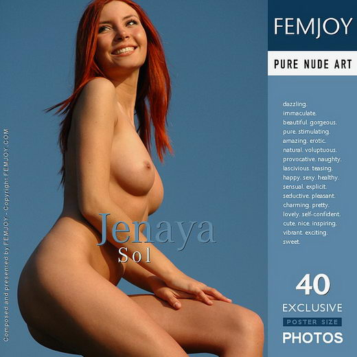 Jenaya - `Sol` - by Rustam Koblev for FEMJOY