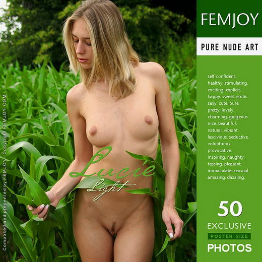 Lucie - `Light` - by Peter Vlcek for FEMJOY