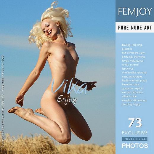 Vika - `Enjoy` - by Rustam Koblev for FEMJOY