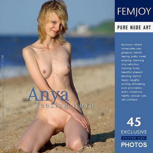 Anya - `Teasing Anya` - by Rustam Koblev for FEMJOY