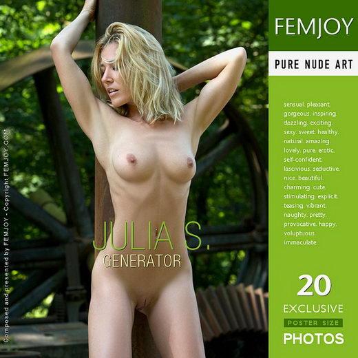 Julia S - `Generator` - by Stefan Soell for FEMJOY