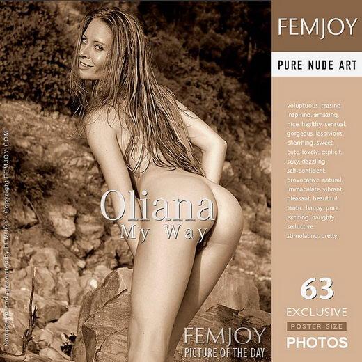 Oliana - `My Way` - by Alex Tkatchev for FEMJOY