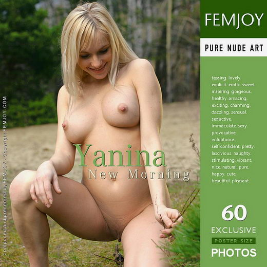 Yanina - `New Morning` - by Alexander Gribanov for FEMJOY