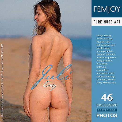 Juli - `Easy` - by Rustam Koblev for FEMJOY