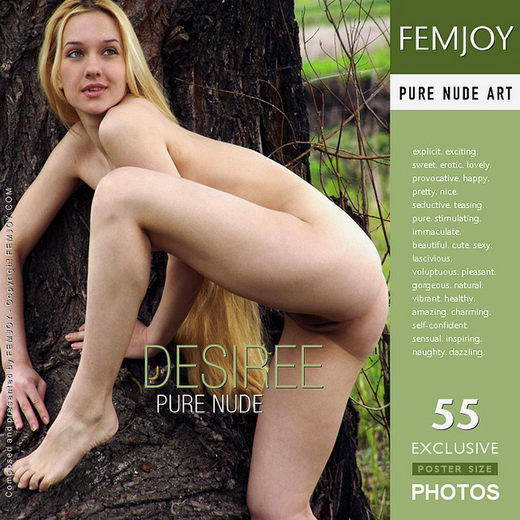 Desiree - `Pure Nude` - by Arev for FEMJOY