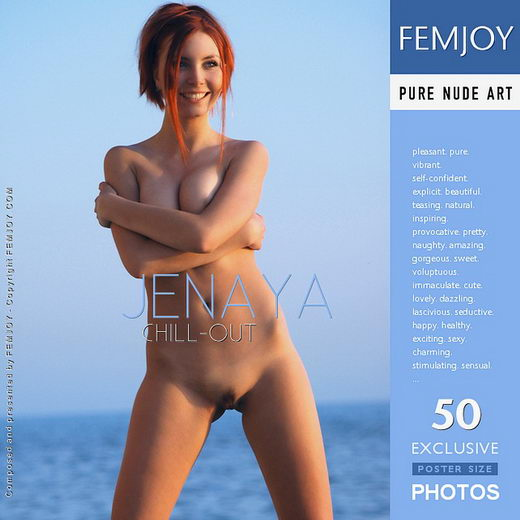 Jenaya - `Chill-out` - by Rustam Koblev for FEMJOY