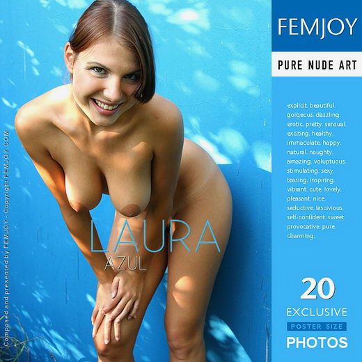 Laura - `Azul` - by Peter Vlcek for FEMJOY